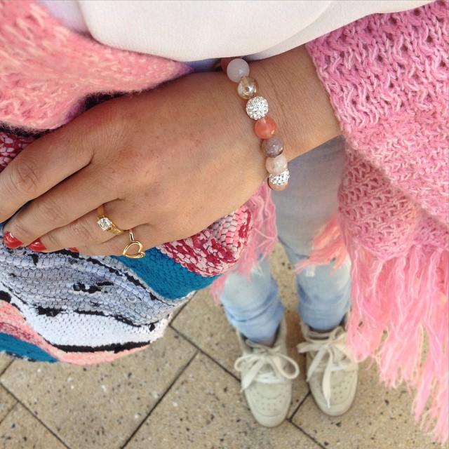 karmasieraden karma bracelets armcandy pink jewelry instajewelry instagood instacool picofthedayhellip